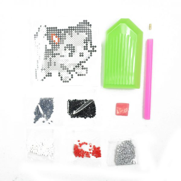 Factory Price Cat Shape Diamond Sticker for DIY Hobby