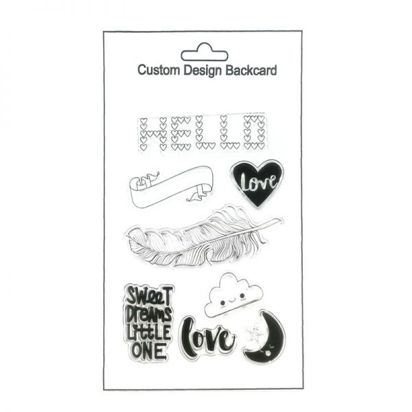 wholesale factory price clear stamp for DIY Hobby