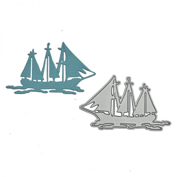 Factory price boat shape cutting dies for DIY hobby