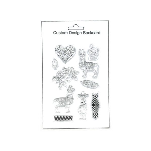 New design happy theme clear stamp for scrapbooking
