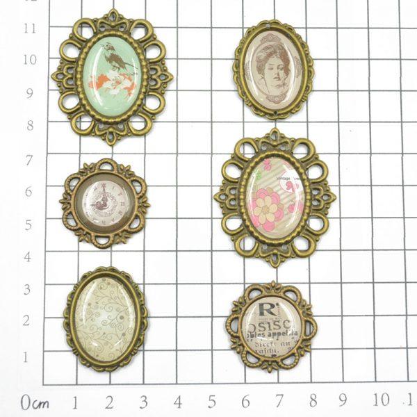 Custom design metallic trinkets for DIY hobby
