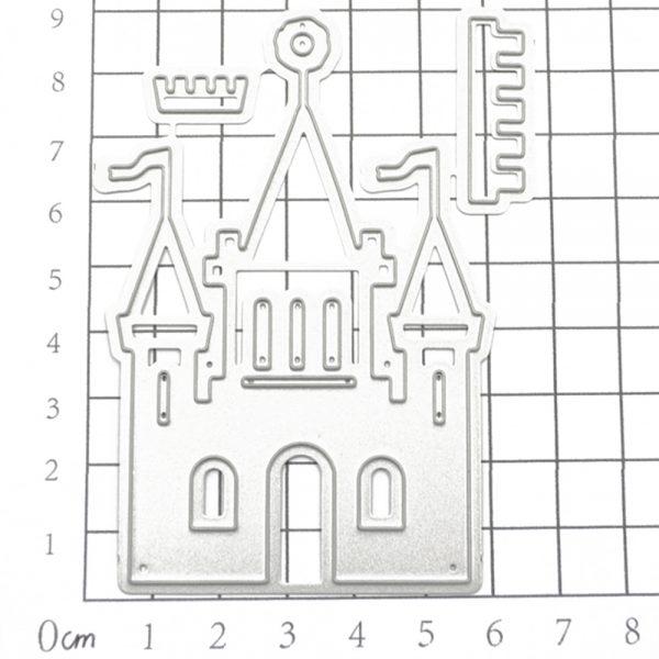 Wholesale castle shape die cutting dies for scrapbooking