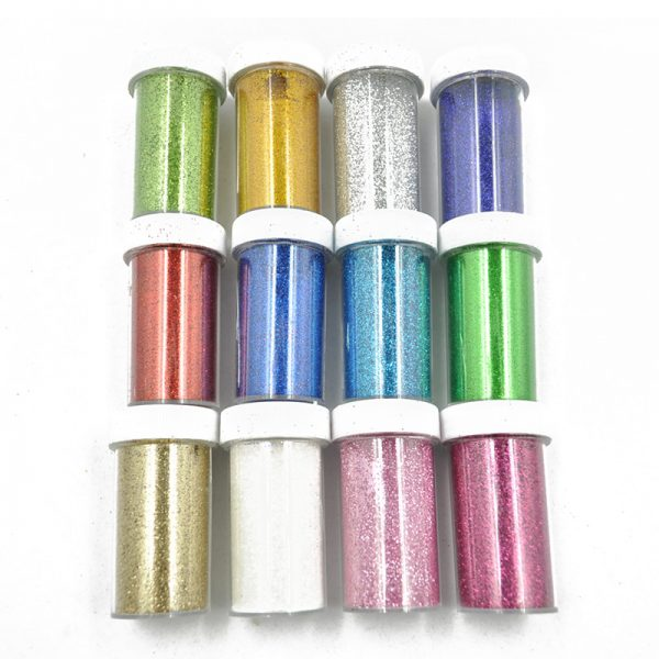 Custom color wholesale craft glitter for hand craft