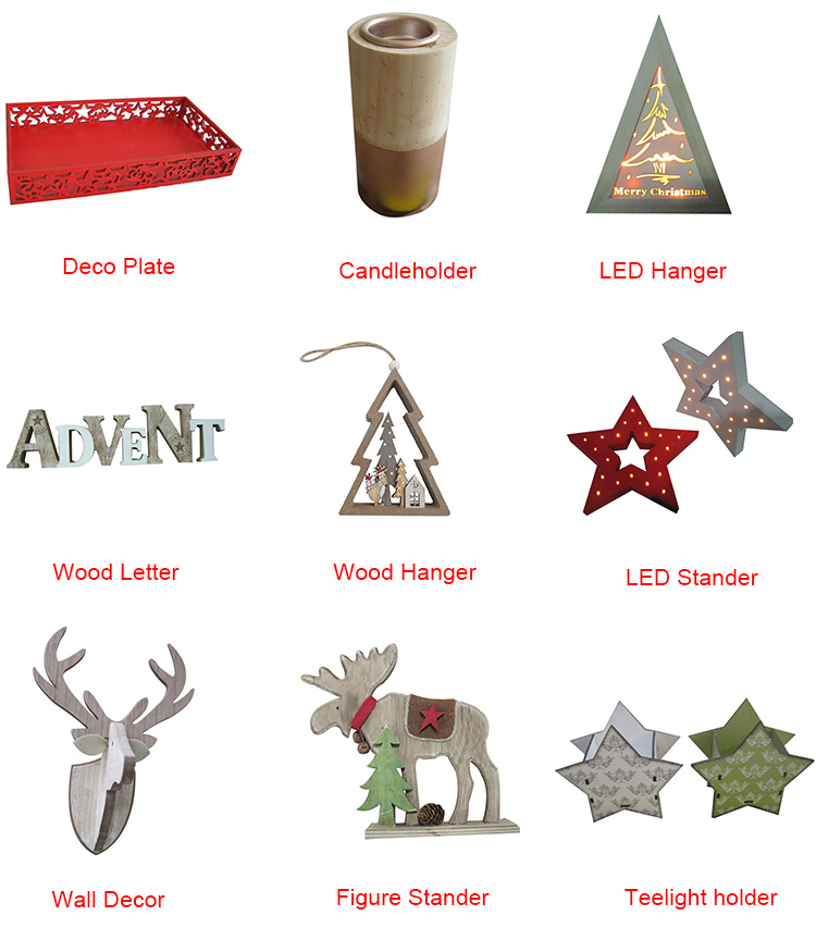 Wood door hanger with German words for christmas decoration-China-Crafts-Supplies, Sino crafts is a professional manufacturer and supplier of arts & crafts, officially established in 2003.