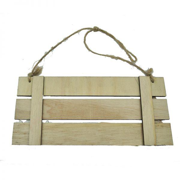 MDF wood door hanger for home decoration