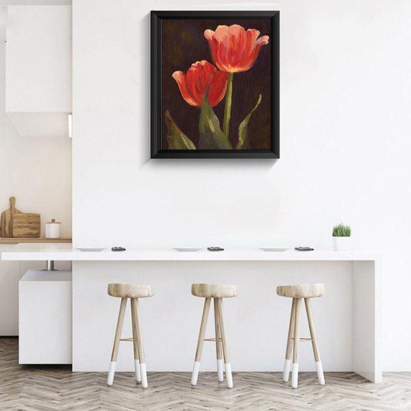 Flower 3D diamond painting DIY craft