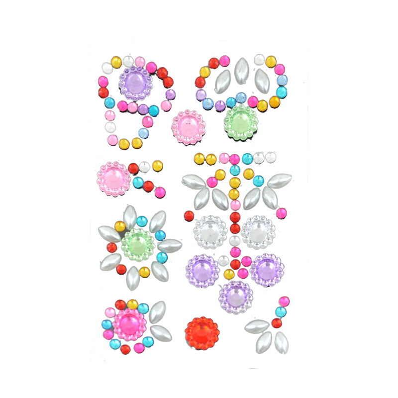 Gem Sticker-China-Crafts-Supplies, Sino crafts is a professional manufacturer and supplier of arts & crafts, officially established in 2003.