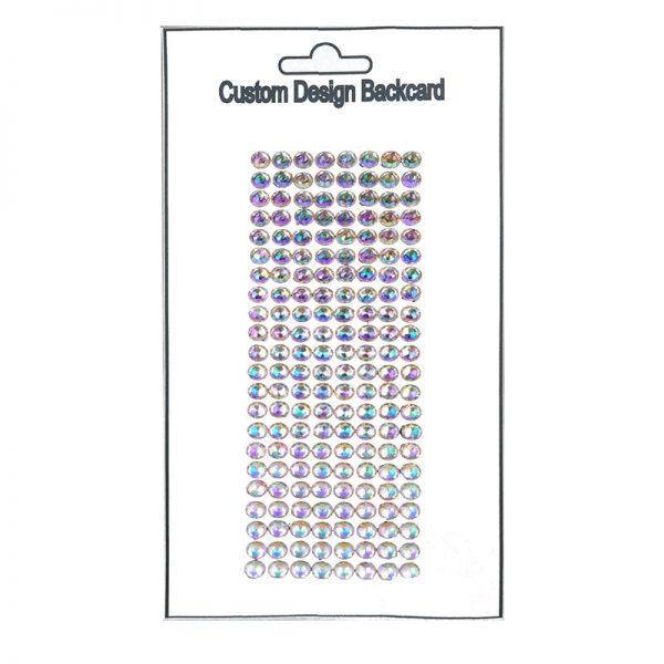 10mm crystal sticker and gem sticker wholesales