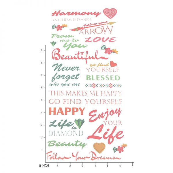 2019 new design happy holy theme craft paper sticker