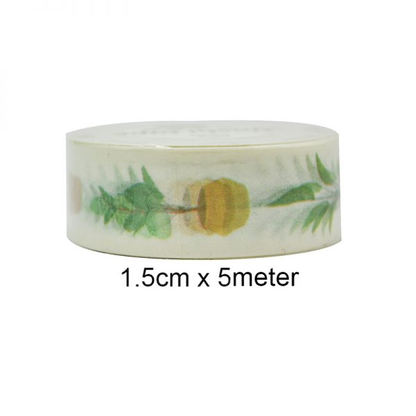 2019 new design pot culture washi tape for decoration