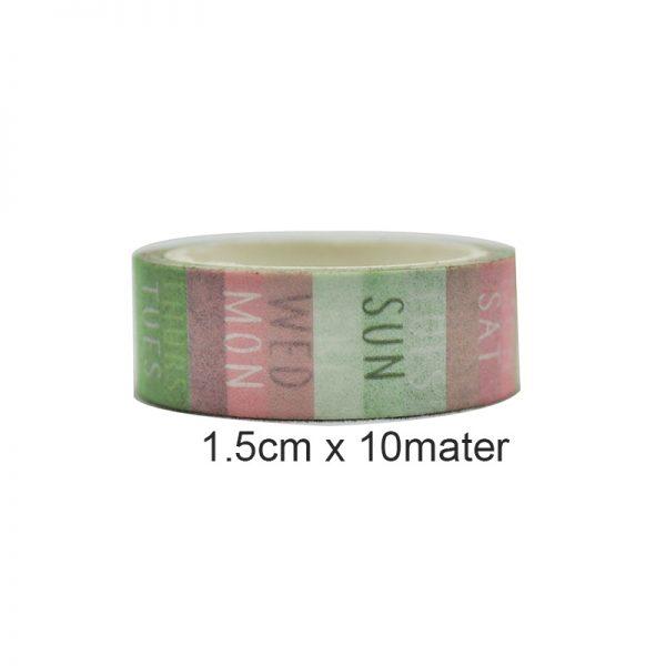 3pcs light colors style DIY washi tape craft