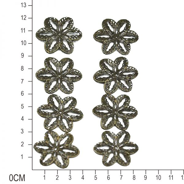 8pcs lily flower trinket for DIY accessory