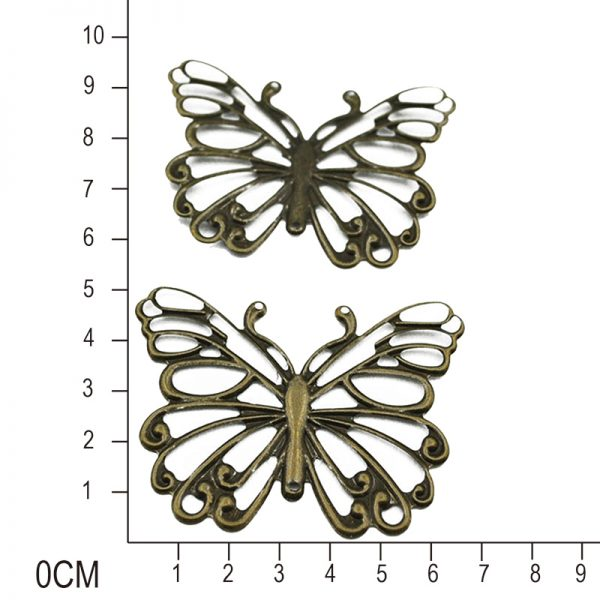 Big size hollow out butterfly shape trinkets