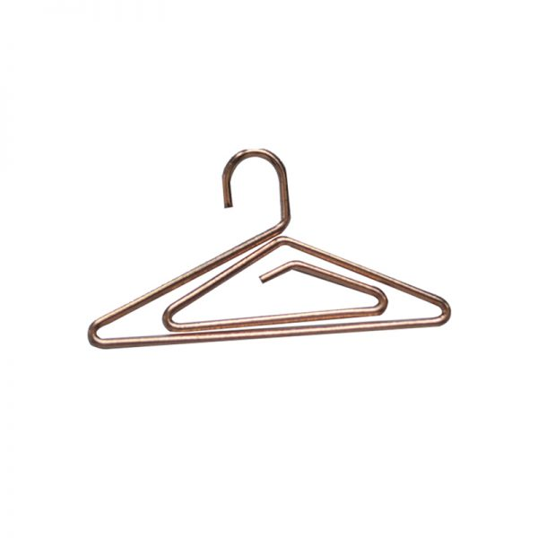 Champagne hangers metal design paperclips for wholesales