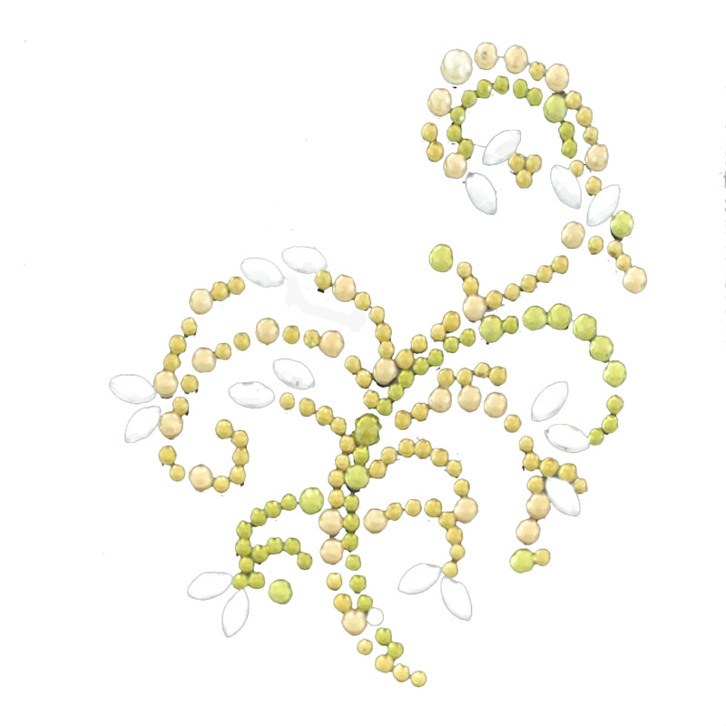 Colored pearl sticker and gem sticker-China-Crafts-Supplies, Sino crafts is a professional manufacturer and supplier of arts & crafts, officially established in 2003.