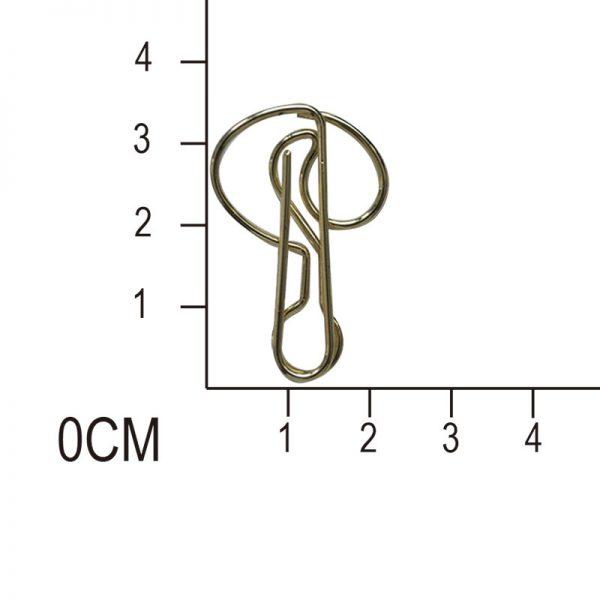 Golden tree design paperclip for crafts clip manufacturer