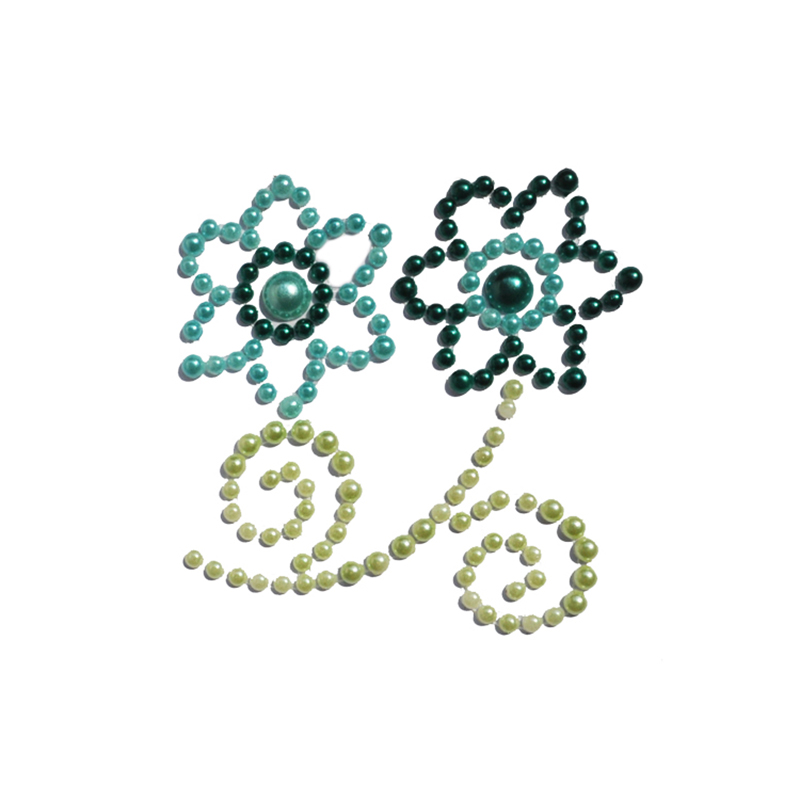 Colorful Pearl Stickers-China-Crafts-Supplies, Sino crafts is a professional manufacturer and supplier of arts & crafts, officially established in 2003.