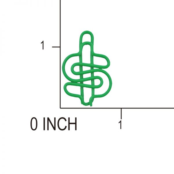 Note green design crafts clips and paperclips mannufacturer