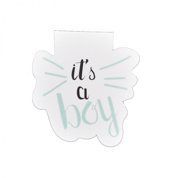 Sweet dream baby boy theme magnetic clips