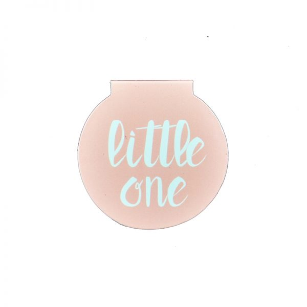 Sweet dream baby girl theme magnetic clips