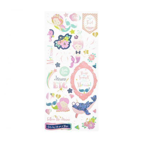 Sweet dream theme craft printed paper sticker
