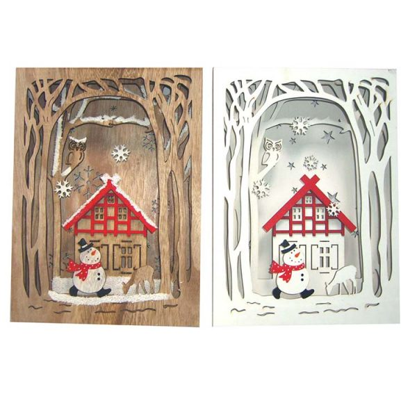 multilayer wood craft decorative wall hanger