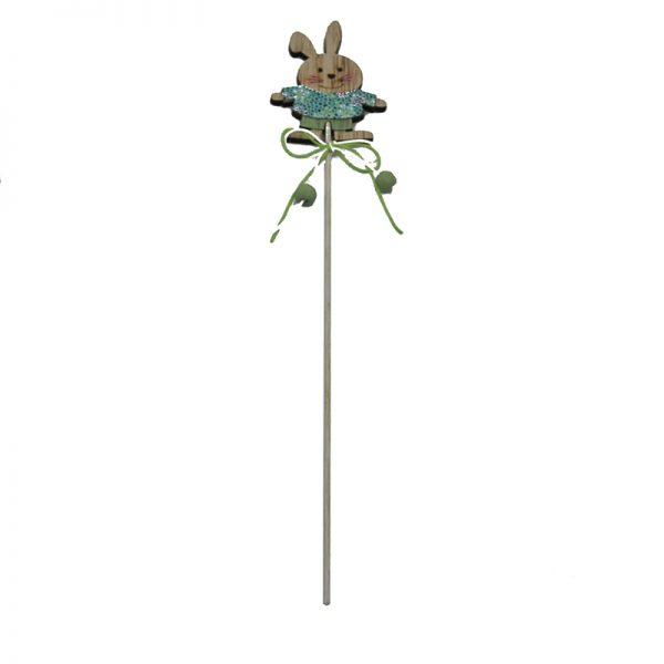 2 assorted easter decor wood craft sticks for home decoration