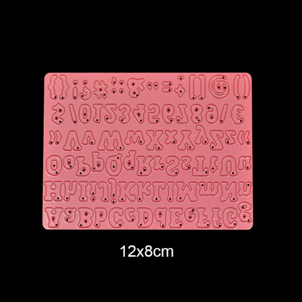 Alnum pink shape die cutting dies for scrapbooking