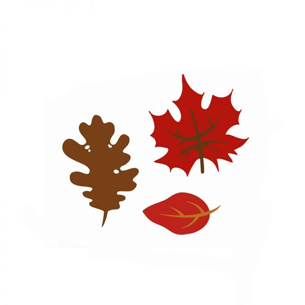 Autumn leaves theme cutting dies for hobby