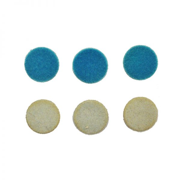 Blue color mixed type craft brads