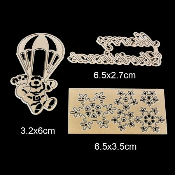 Brownness different mixed shape cutting dies for scrapbooking