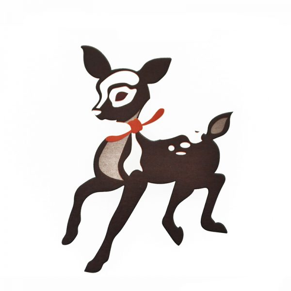 Christmas cheer reindeer design cuuting dies