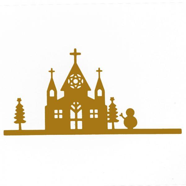 Church shape die cutting dies for srcapbooking