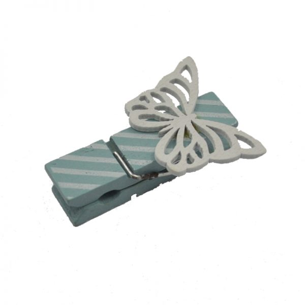 Colorful different size  butterfly clothespin for decor