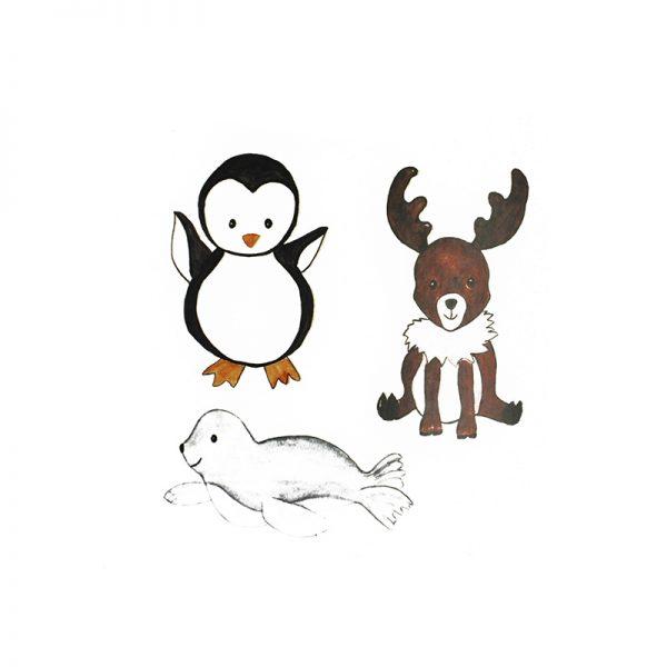 Cute animals design cutting dies crafts supplies