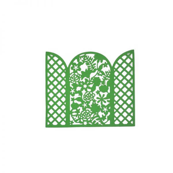 Cutout flower shape die cutting crafts for DIY hobby