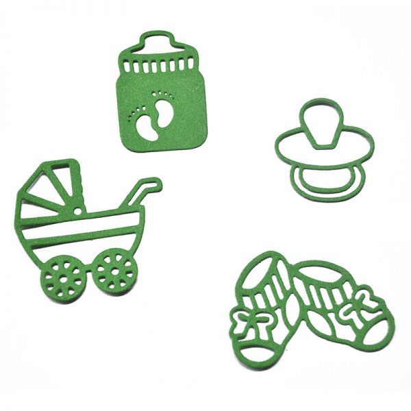 Shoes shape die cutting dies for srapbooking