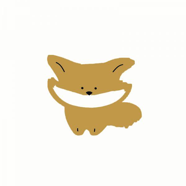 Sweet dream theme little fox shape cutting dies