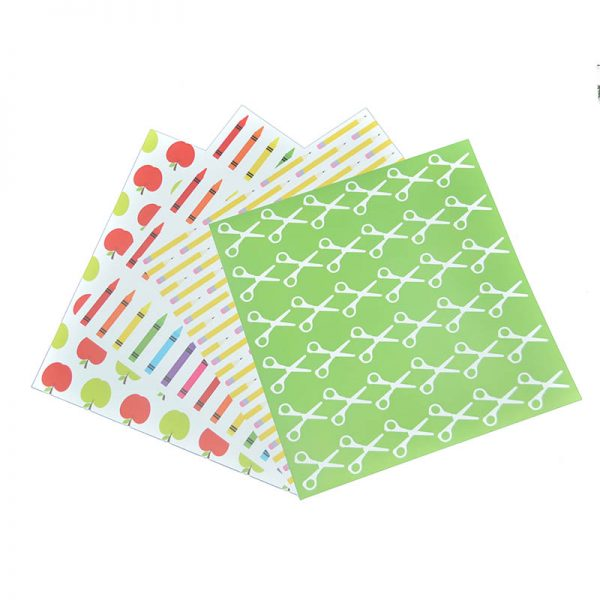 Back to school theme craft paper for wholesale