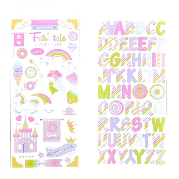 Craft paper pattern with sticker for wholesale