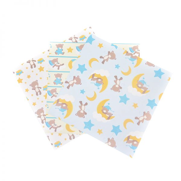 Double size print pattern paper for craft hobby