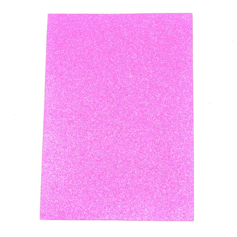 Purpule color flash glitter paper for wholesale - China