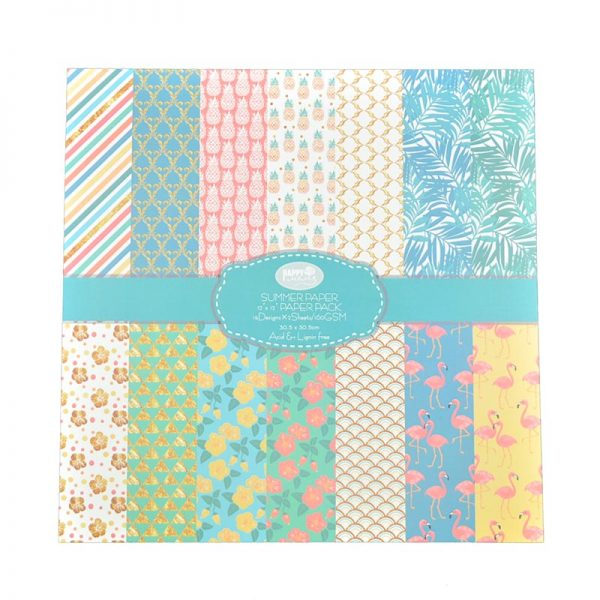 Summer theme paper pattern for wholesale