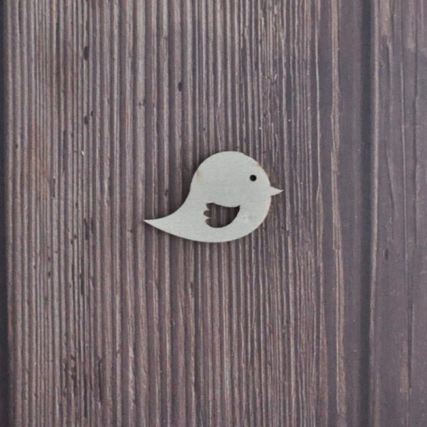 Cute bird design laser cut wood craft shapes