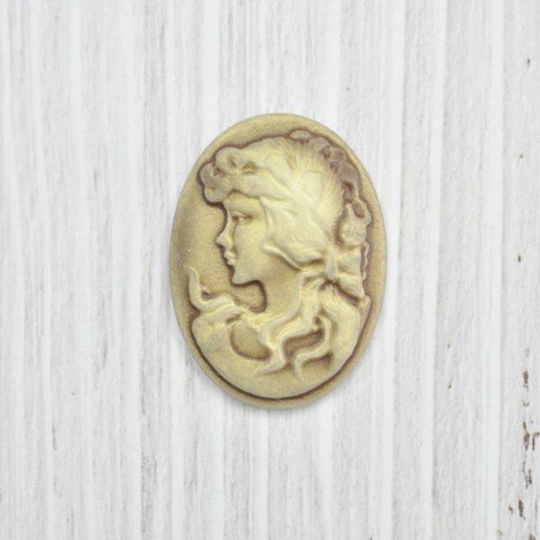 Oval shape renaissance stype beautiful lady cameo for wholesale