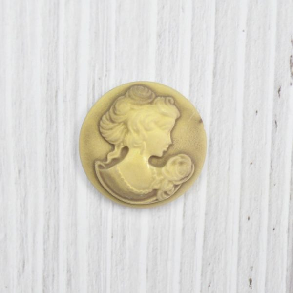 Wholesale polyresin cameo for hobby crafts