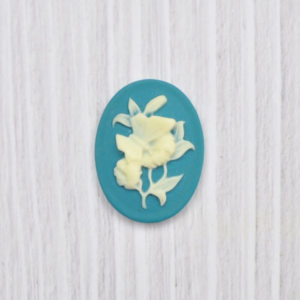 Best selling jewelry making accessories flower design cameo