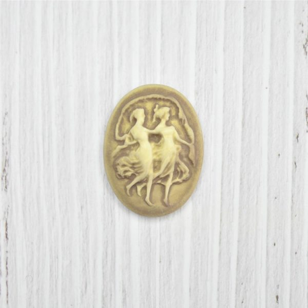 renaissance style polyresin cameos for wholesale